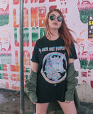 Tshirt Cute But Psycho | PRETO