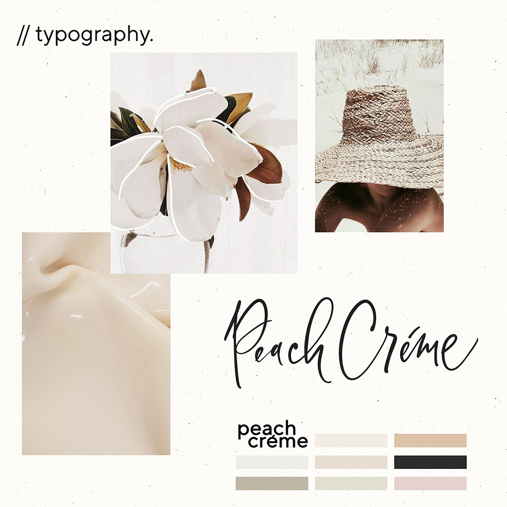 logo design peachcreme