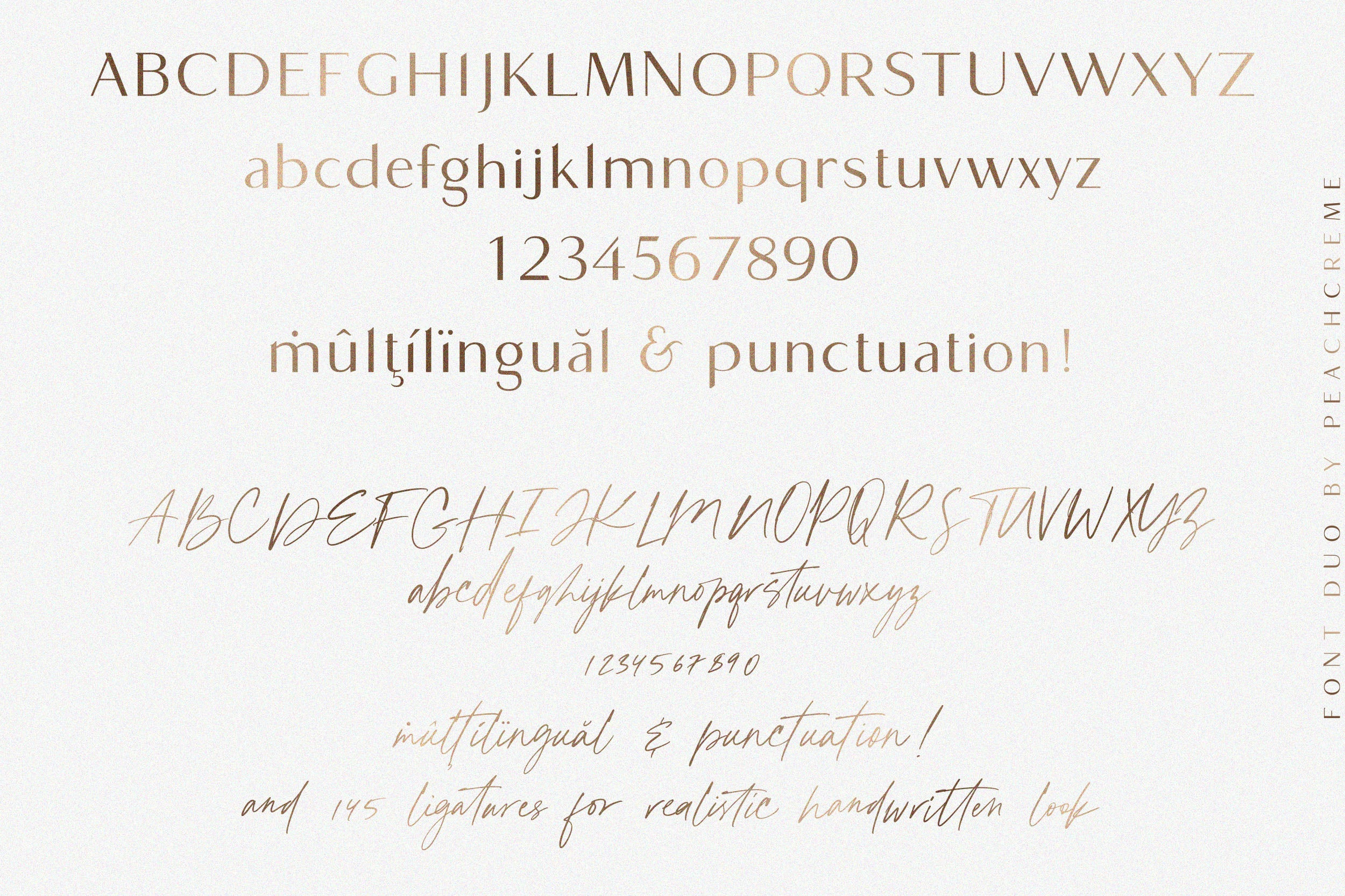 Chic Societe Font Duo
