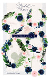 Bridal Navy // Watercolor Set