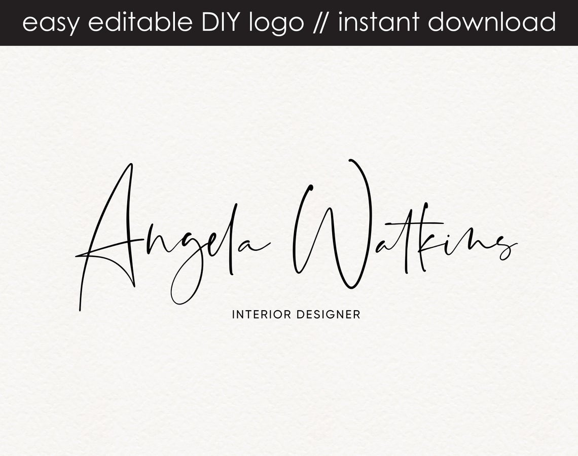 Angela Watkins DIY Logo Design