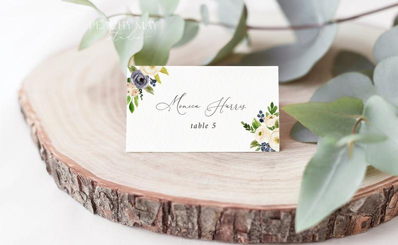Place Card Template 026