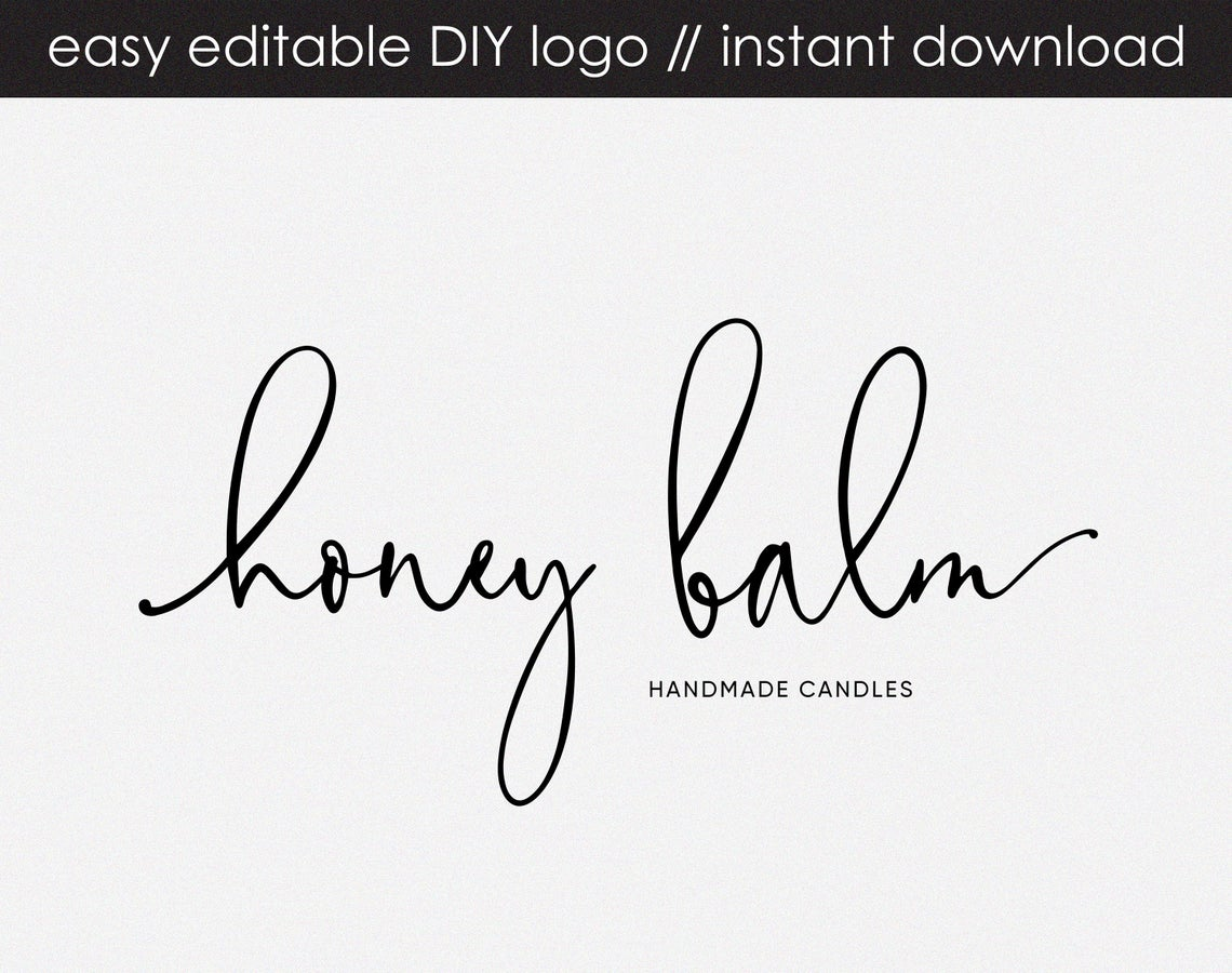 Honey Balm DIY Logo Design