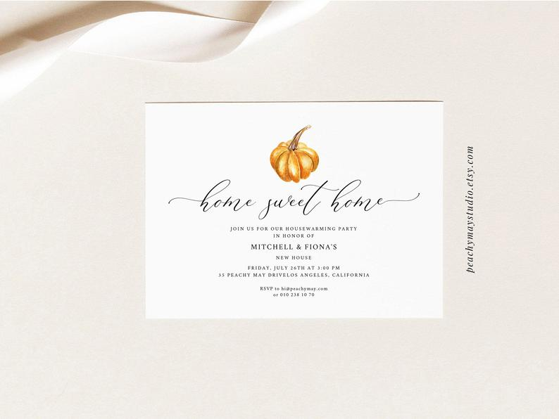 Housewarming Party Invitation Template 1