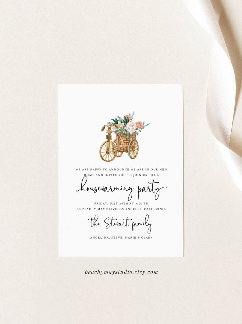 Housewarming Party Invitation Template 4