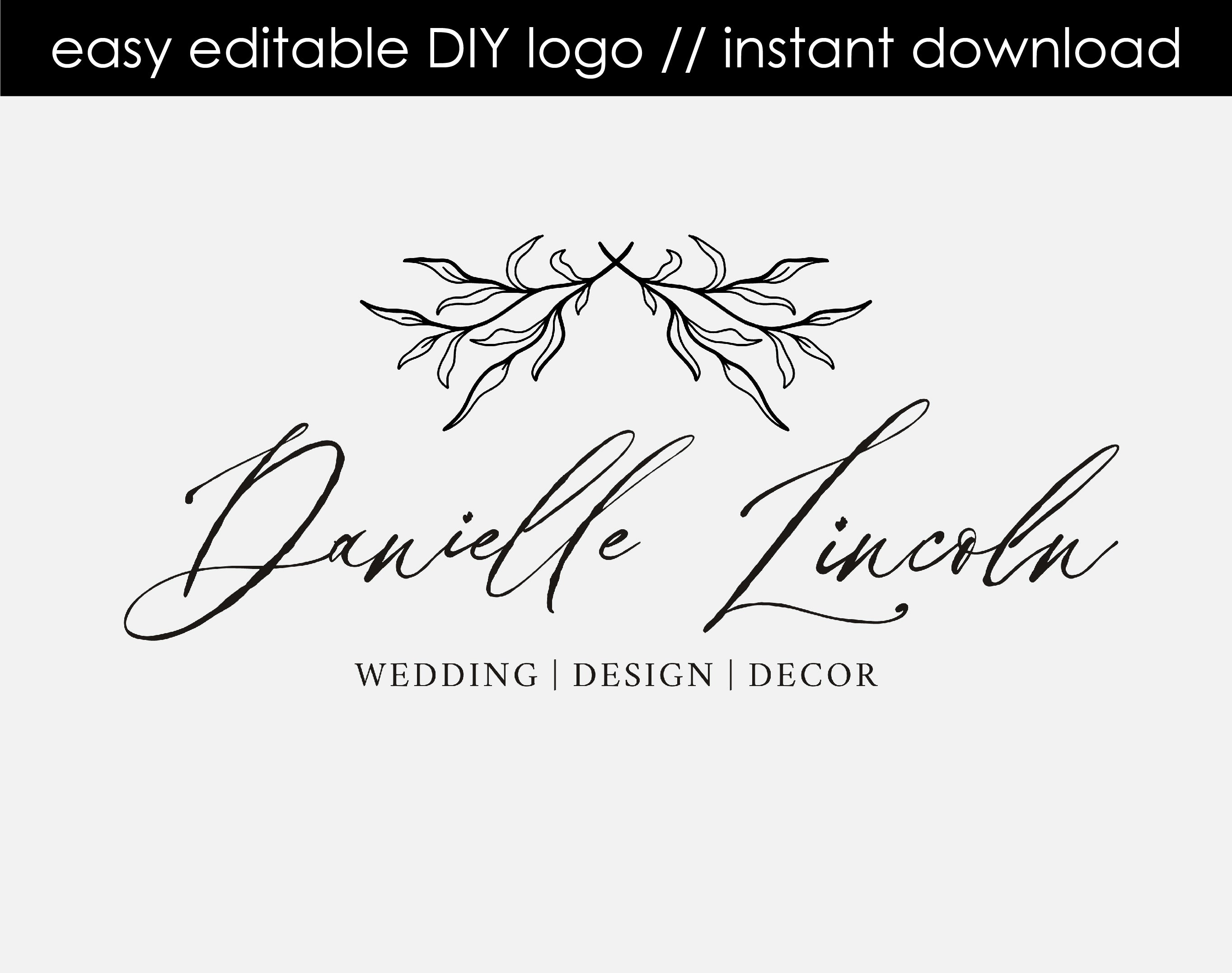 Danielle Lincoln DIY Logo Design
