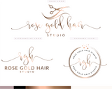Rose Gold Hair Studio Kit