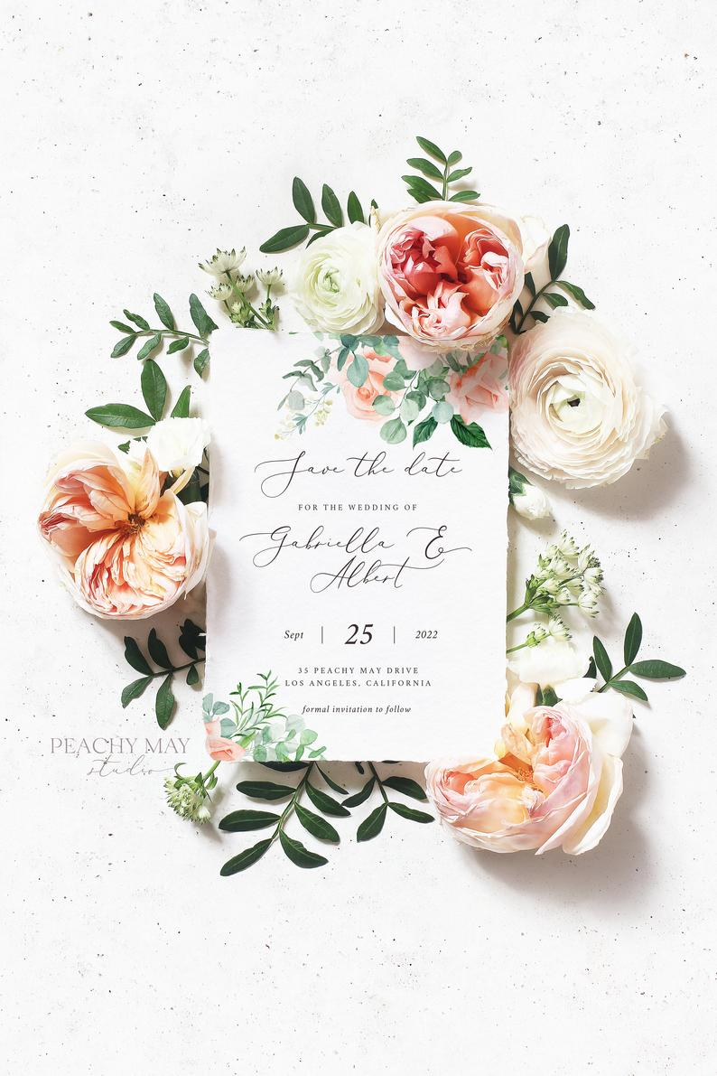 Save The Date Template 025