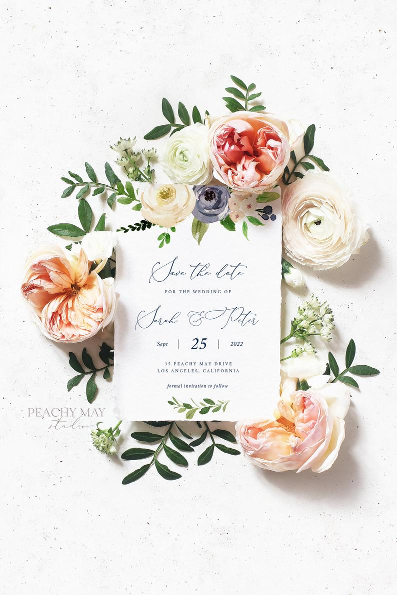 Save The Date Template 026