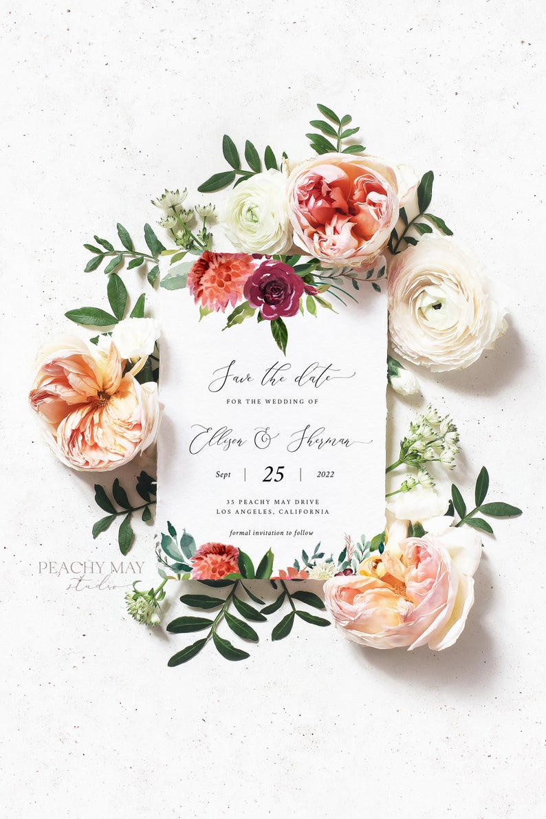 Save The Date Template 028