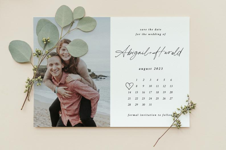 Modern Save the Date Template 059