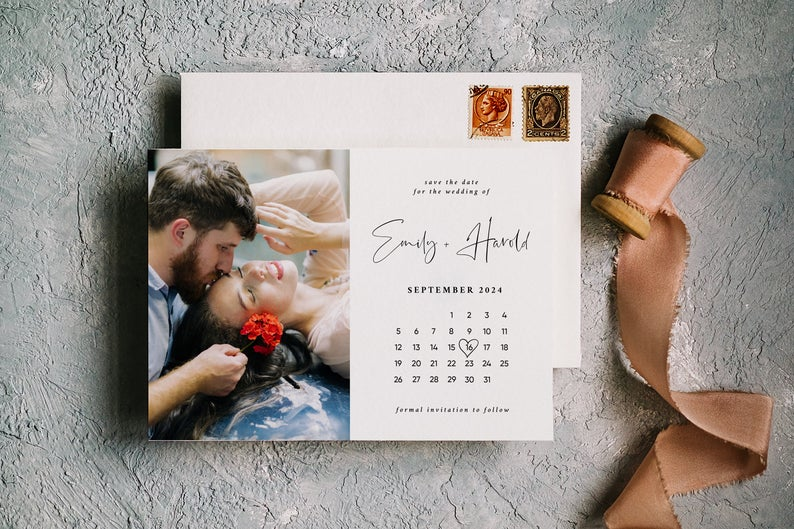 Modern Save the Date Template 7