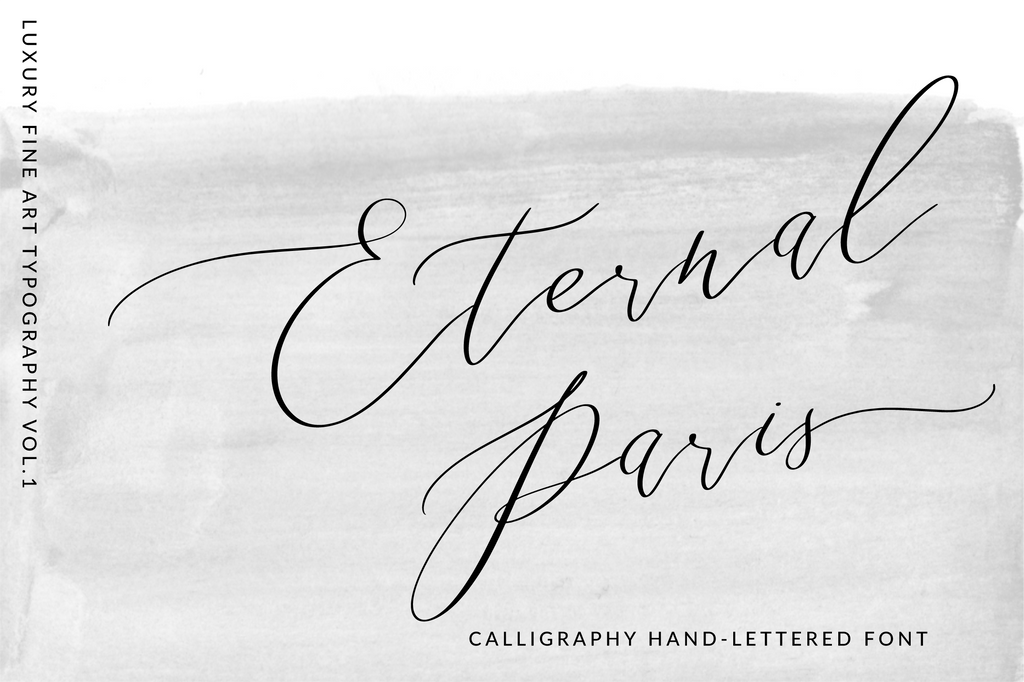 Eternal Paris Script , , - peachcreme.com