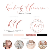 Kimberly Harrison Kit , Logo Design, - peachcreme.com