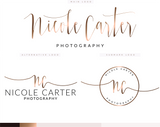 Nicole Carter Kit , Logo Design, - peachcreme.com