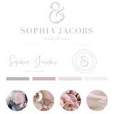 Sophia Jacobs Kit , Logo Design, - peachcreme.com