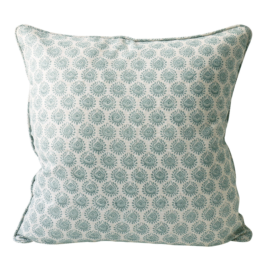Lyon Celadon cushion