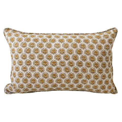 Lyon Saffron cushion