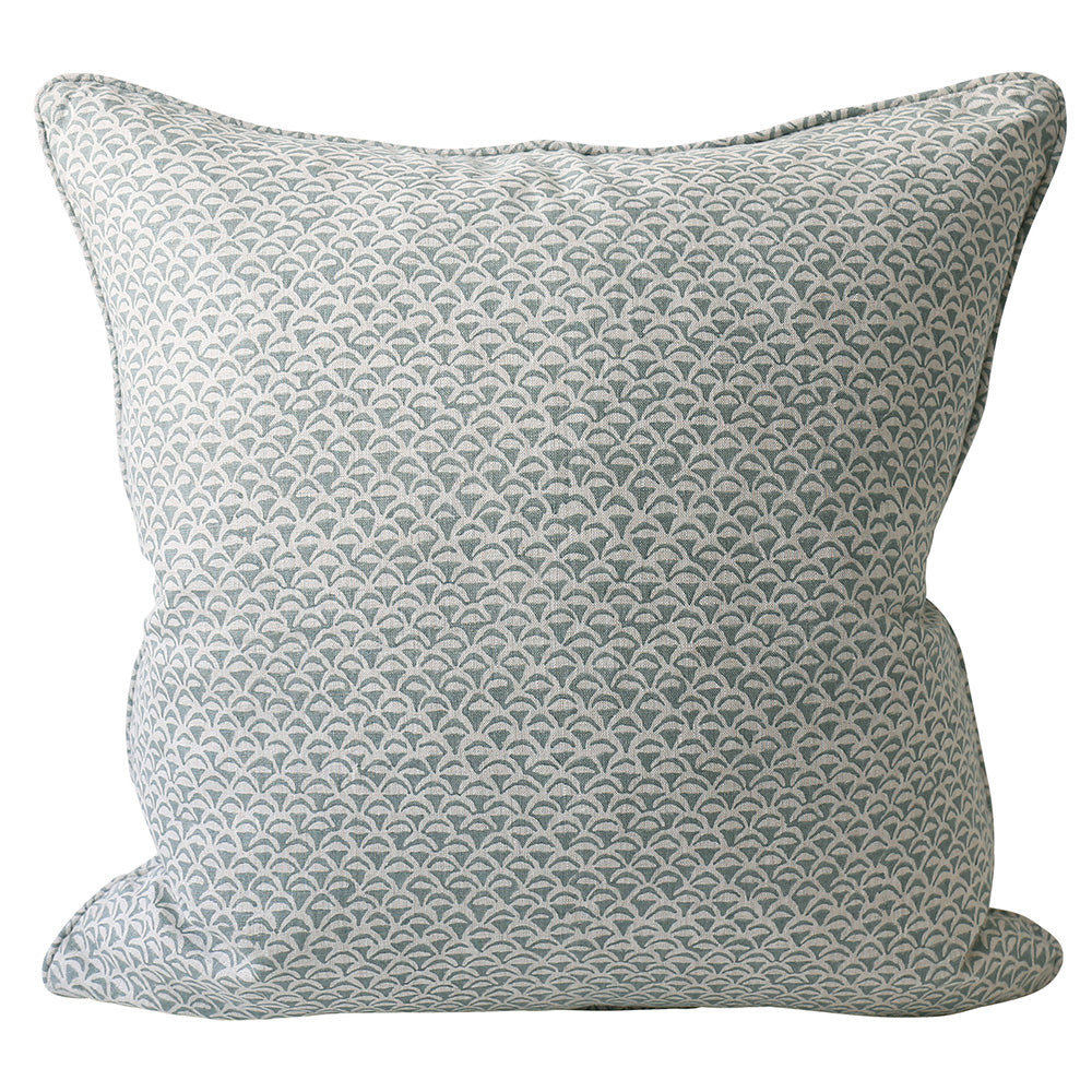 Moro Celadon cushion