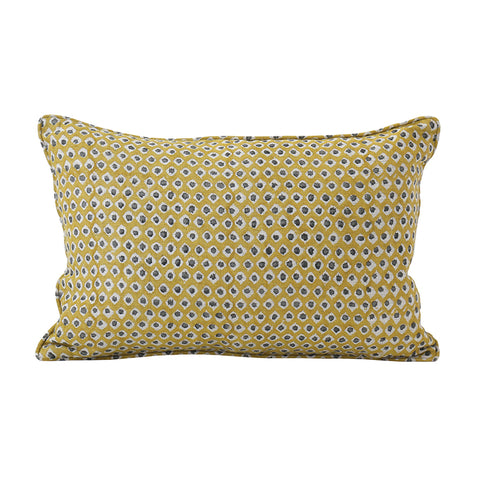 Patola Saffron Cushion