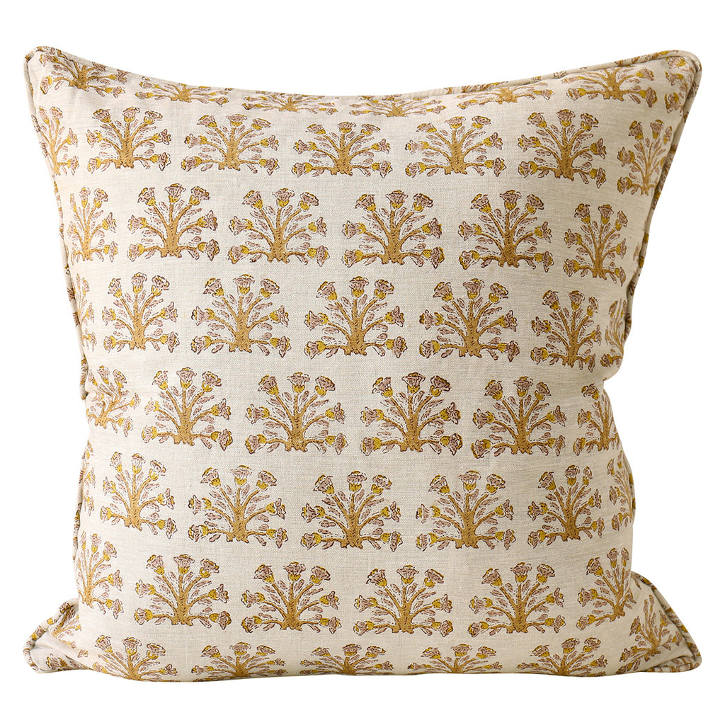 Samode Saffron cushion