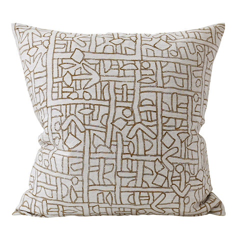 Zaire Tobacco Cushion