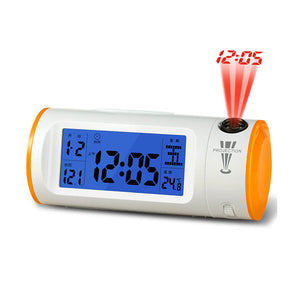 4 in 1 Digital Clock with Temperature, Date, Time & Day