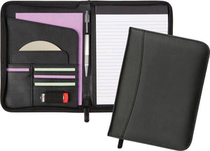 A5 PU Leather Folder with Writing Pad