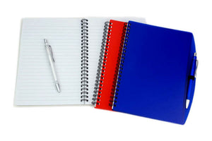 A5 Size PP Cover Notebook with Pen