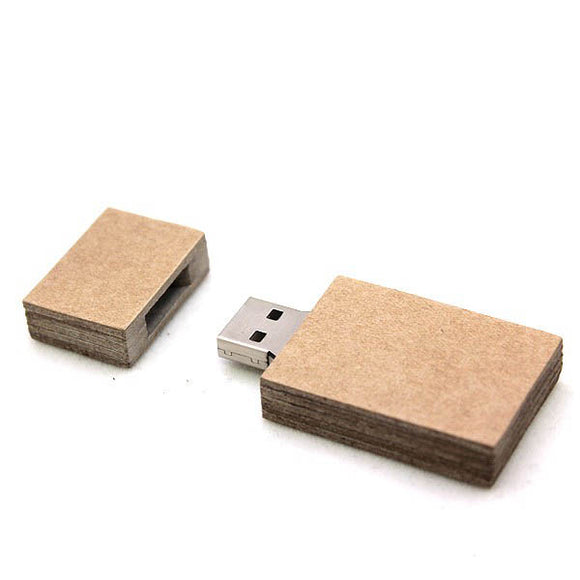 Card Board Flash Drive