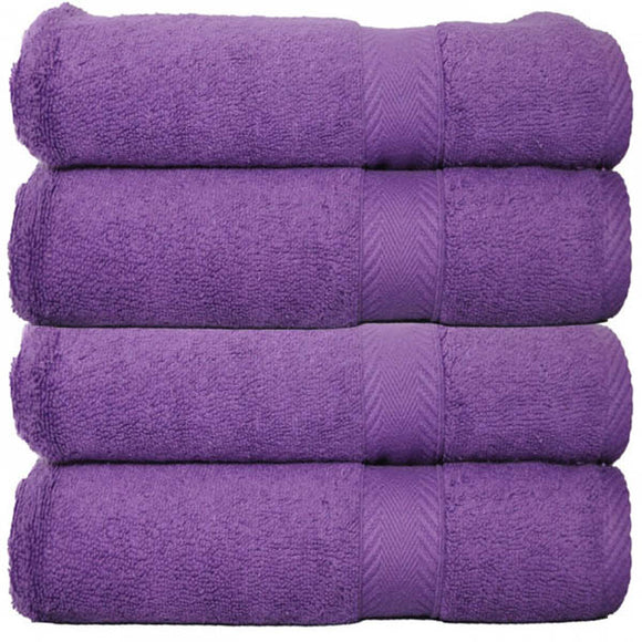 Cotton Polyester Blend Bath Towel