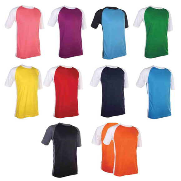 Dri-fit Round Neck Two Tone Jersey
