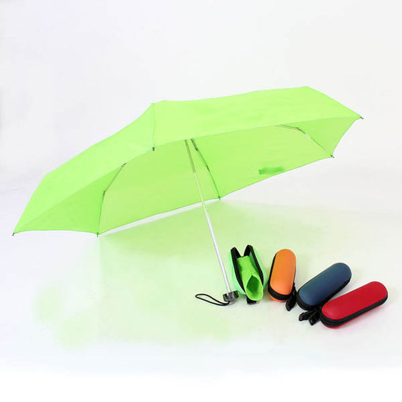 EVA Case Capsule Foldable Umbrella
