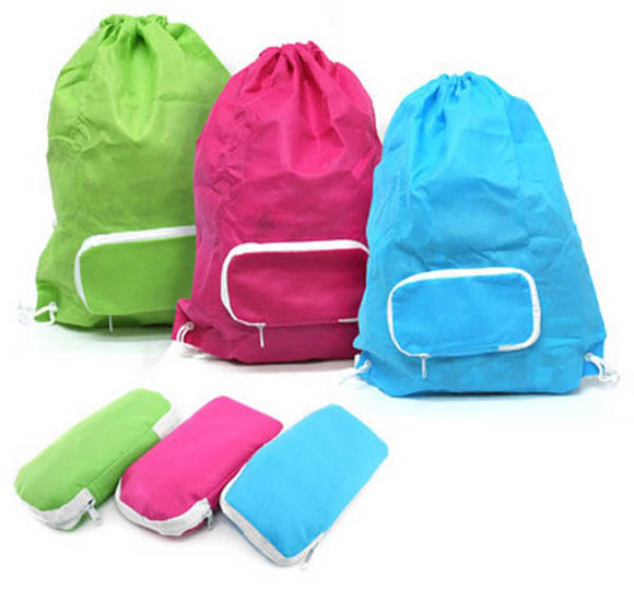 Foldable Drawstring Non-woven Bag