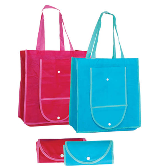 Foldable Non-woven Bag with Button