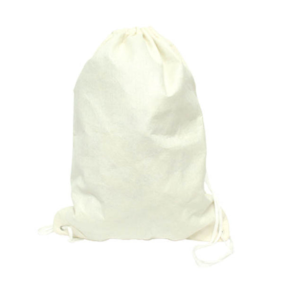 8oz Cotton Canvas Drawstring Backpack