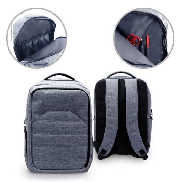 Ashton Ribbed Laptop Backpack