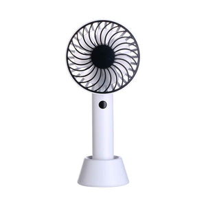 Hand Held Fan with Stand