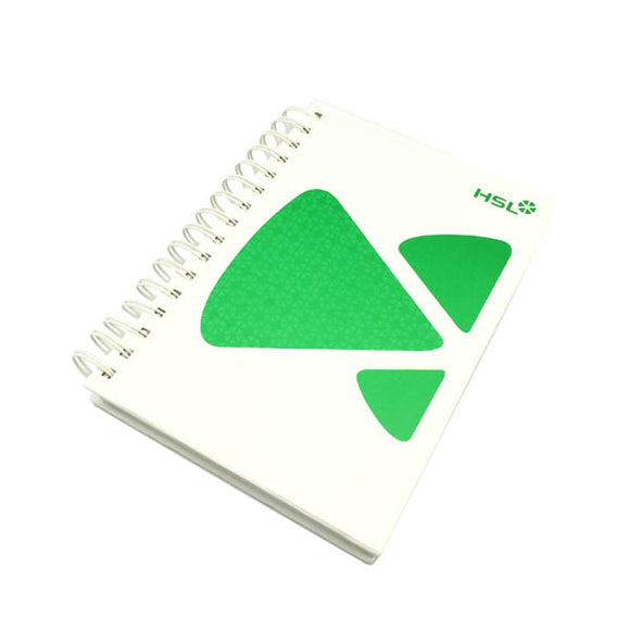 Hard Cover Paper Wire O Notebook