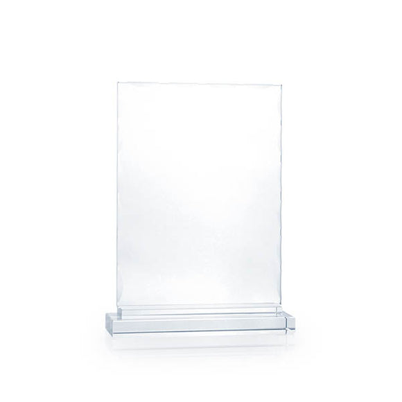 Rectangle Crystal Plaque