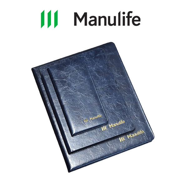 Manulife Customized Notebook Set