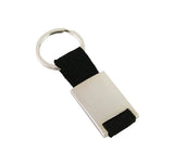 Metal Key Ring with Metal Strap