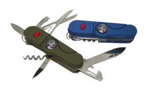 Multi-function Knife with Compass