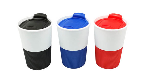 PP Coffee Cup with Silicone Grip