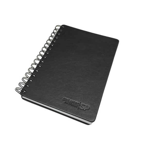 PU Leather Wire O Notebook