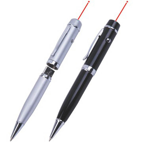 Pen Flash Drive with Laser or LED Light