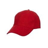 6 Panel Cotton Brush Baseball Cap