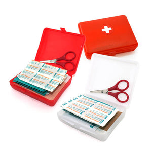 Red First Aid Kit Box
