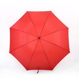 Black Regular Windproof Umbrella