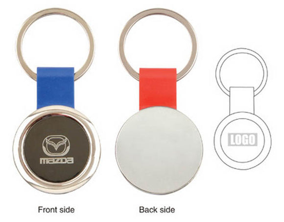 Round Tag Key Chain